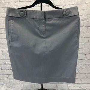 J.Crew Pencil skirt. Light gray. Size 8 **